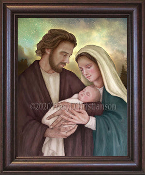 Holy Family (H) Framed