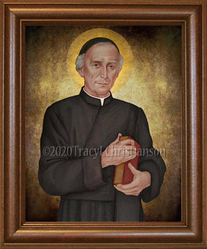 Venerable Bruno Lanteri Framed Art