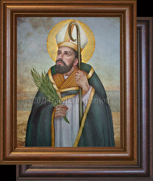 St. Erasmus of Formia Framed Art