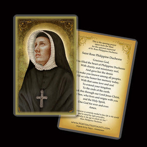 St. Rose Philippine Duchesne Holy Card