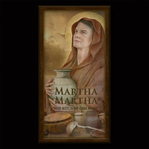 St. Martha of Bethany Inspirational Plaque