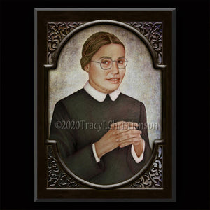 Bl. Maria Bolognesi Plaque & Holy Card Gift Set