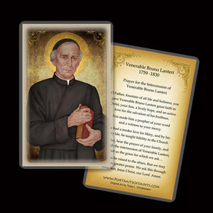 Venerable Bruno Lanteri Holy Card