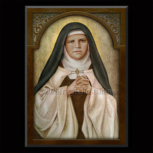 St. Mariam Baouardy Plaque & Holy Card Gift Set