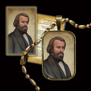 Bl. Frederic Ozanam Pendant & Holy Card Gift Set
