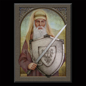 St. Joshua Plaque & Holy Card Gift Set