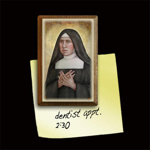 St. Pauline of the Agonizing Heart of Jesus Magnet