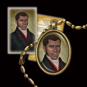 Venerable Pierre Toussaint Pendant & Holy Card Gift Set