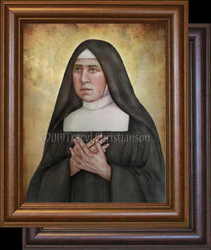 St. Pauline of the Agonizing Heart of Jesus Framed