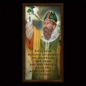 St. Patrick (C) Inspirational Plaque