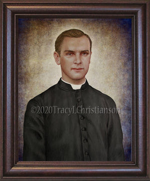 Fr. Michael McGivney Framed Art