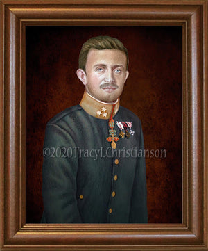 Bl. Karl of Austria Framed Art