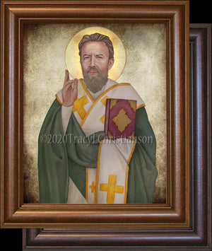 St. Cyril of Jerusalem Framed