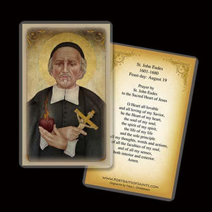 St. John Eudes Holy Card