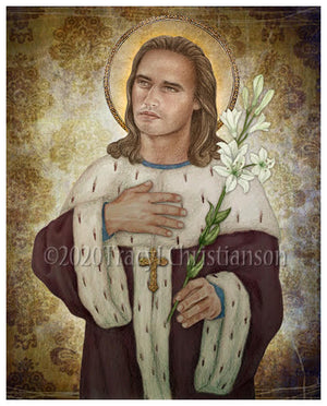 St. Casimir of Poland Print