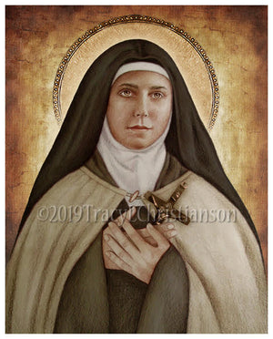 St. Teresa of the Andes Print