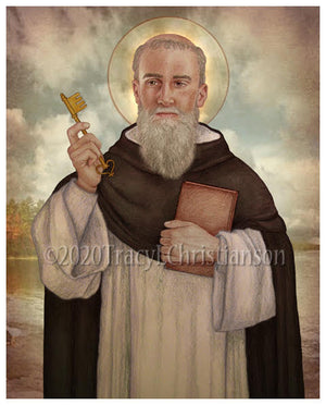 St. Raymond of Penafort Print