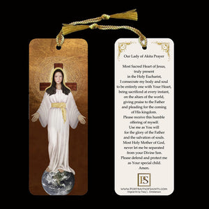 Our Lady of Akita Bookmark