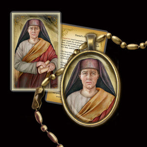 St. Daniel the Prophet Pendant & Holy Card Gift Set