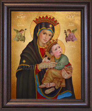 Our Lady of Perpetual Help Framed