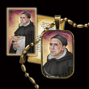 Bl. Fra Angelico Pendant & Holy Card Gift Set