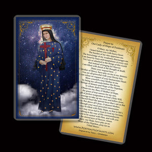 Our Lady of Pontmain Holy Card