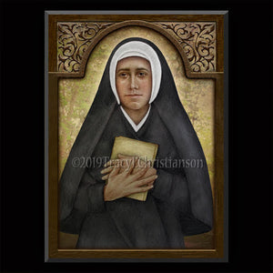 Sr. Josefa Menendez Plaque & Holy Card Gift Set