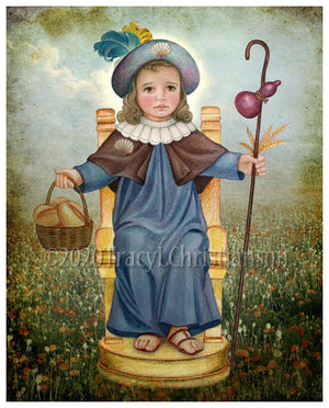 The Holy Child of Atocha (Santo Niño de Atocha) Print