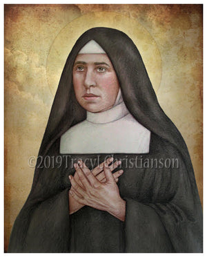 St. Pauline of the Agonizing Heart of Jesus Print