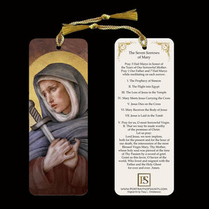 Our Lady of Sorrows Bookmark