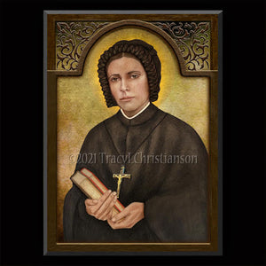 Bl. Clare Bosatta Plaque & Holy Card Gift Set