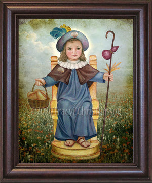 The Holy Child of Atocha (Santo Niño de Atocha) Framed