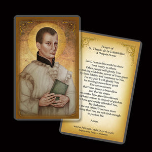 St. Claude de la Colombière Holy Card