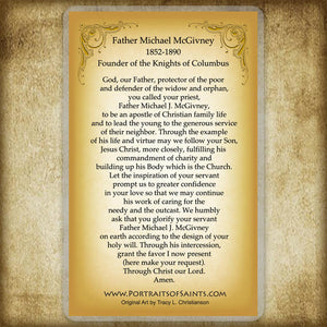 Fr. Michael McGivney Holy Card