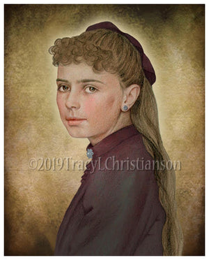 St. Elizabeth of the Trinity (Teenager) Print
