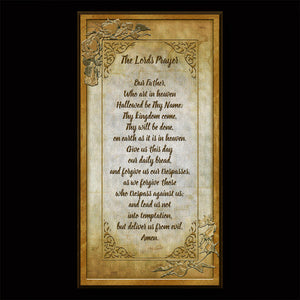 The Our Father (The Lords Prayer)  Inspirational Plaque
