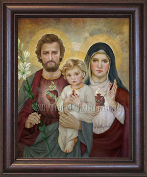 Holy Family (G)  Framed