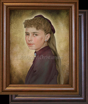 St. Elizabeth of the Trinity (Teenager) Framed