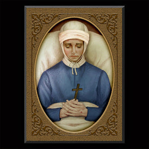 Bl. Anne Catherine Emmerich Plaque & Holy Card Gift Set