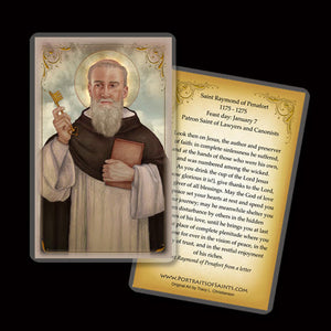 St. Raymond of Penafort Holy Card