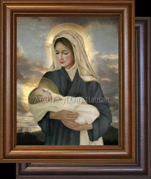 Madonna & Child (P) Framed