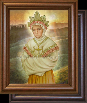 Our Lady of La Salette Framed
