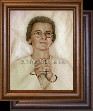 Venerable Marthe Robin Framed