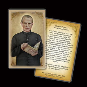 Bl. James Alberione Holy Card