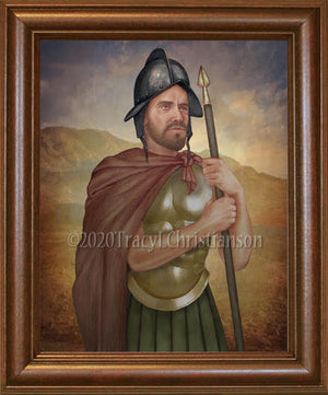 St. Theodore of Amasea Framed