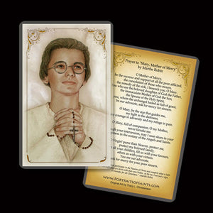 Venerable Marthe Robin Holy Card