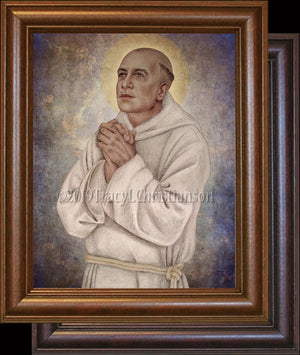 St. Bruno of Cologne Framed