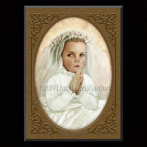 Little Nellie of Holy God (Nellie Organ) Plaque & Holy Card Gift Set