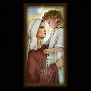 Madonna and Child (N) Inspirational Plaque