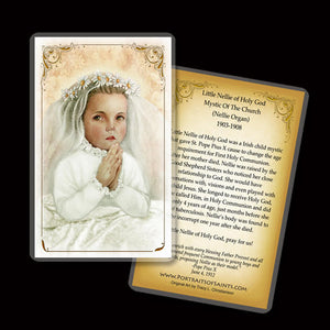 Little Nellie of Holy God (Nellie Organ) Holy Card